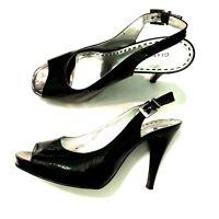Gianni Bini Womens Heels, Black 7.5M