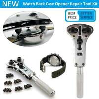 Practical Watchmaker Watch Repair Tool Kit Back Case Cover Open Battery Remover