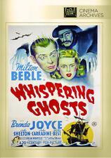 Whispering Ghosts 1942 (DVD) Milton Berle, Brenda Joyce, John Shelton - New!
