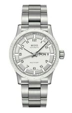 $990 MIDO Multifort Stainless Steel Automatic Swiss Made Watch M0188301101200