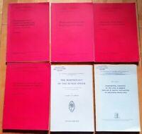 6 Bücher Medizin Morphologie Pathologie alte Aufsätze Munksgaard 1950er 1960e