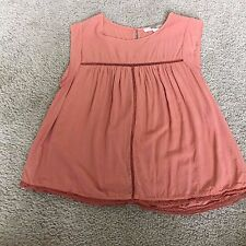 NEW Forever 21 Contemporary Size S Blouse Shirt Orange Cute