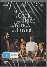 THE COOK THE THIEF, HIS WIFE AND HER LOVER - NEW & SEALED DVD - FREE LOCAL POST