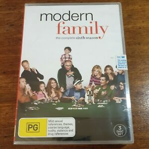 Modern Family The Complete Sixth Season 6 DVD R4  BRAND NEW