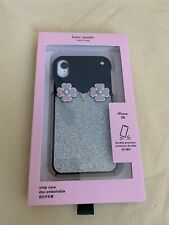 NWT Kate Spade Penguin Applique iPhone XR Snap Case