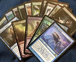 X15 Magic Core Set M14 Rare/foil/mythic Rare Mtg Lot Collection Deck