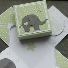 Elephant Metal Cutting Dies Scrapbooking Embossing Album Paper  Card Craft Decor