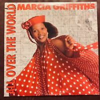 """MARCIA GRIFFITHS  ALL OVER THE WORLD  12"""" VINYL SINGLE MANGO RECORDS VERY GOOD"""