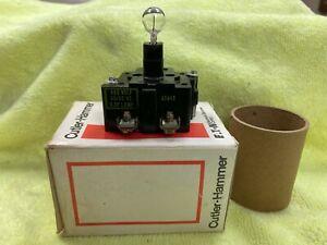 Cutler-Hammer 10250 T67 Push Pull Oper Light Module