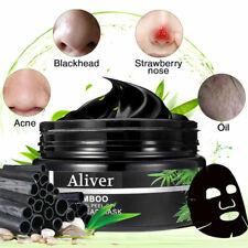 Bamboo Charcoal Acne Blackhead Peel Off  Deep Cleansing Pores Detox Black Mask