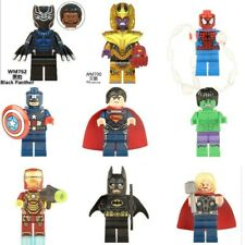 Thanos,Black Panther, Ironman Hulk MARVEL AVENGERS SUPER HEROES MINI FIGURES