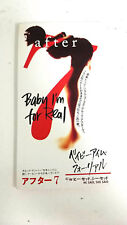 """AFTER BABY I'M FOR REAL VJDP-10201 3"""" JAPAN CD A5114"""