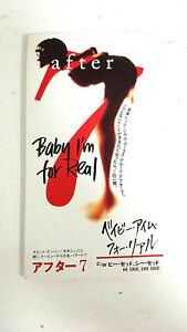 "AFTER BABY I'M FOR REAL VJDP-10201 3"" JAPAN CD A5114"