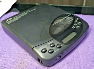 JVC XL-P20 Portable CD Player Black HYPER Bass VINTAGE Japan VGC Fully working