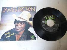 "JAMES BROWN"" RAPP PAYBACK- disco 45 giri FROG Italy 1981"""