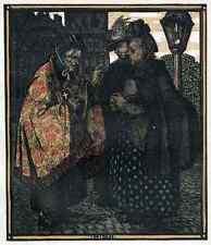 UNHEILVOLLE KLATSCHBASEN - Rudolf SCHIESTL 1910 FarbZinkätzung des JUGENDSTIL