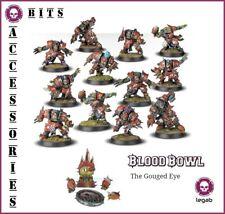 BLOOD BOWL THE GOUGED EYE ORC TEAM GW 2016