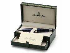 """Montegrappa Ballpoint Large Pen """"FORME"""" Blue Celluloid MSRP: $200.00"""