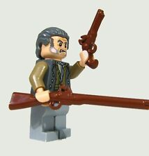 (5x) Brickarms Flintlock Pistol for Lego Minifigures Brown