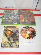 HALO 2 game complete in case w/ Manual for Microsoft XBOX or XBOX 360