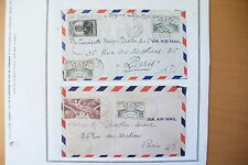 """LOT TIMBRES DES COLONIES """" GUADELOUPE """" / PAGES CHARNIÈRES  38 TIMBRES !!"""