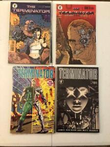 The Terminator  2 Series & 2 One Shots! First Terminator Comic! Matt Wagner!
