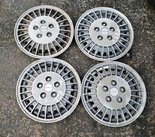 "Set of 4 OEM 1985-89 Pontiac Grand AM 13"" Hubcaps Wheel Covers GM p/n 10031147"