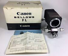 Canon Bellows FL in box ex+ condition