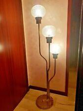 FLOOR LAMP BRASS RARE REGGIANI . VENINI GLASSES