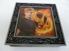 NEW Hunger Games PEETA METAL JEWELRY BOX NECA Josh Hutcherson Mockingjay