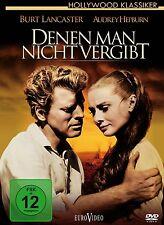 DVD *  DENEN MAN NICHT VERGIBT - THE UNFORGIVEN - Audrey Hepburn  # NEU OVP %