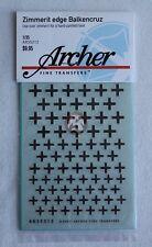 Archer 1/35 Balkenkreuz Iron Cross Late German Armor WWII Zimmerit edge AR35212