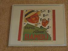 VINTAGE BAMBU PAPER (PAPEL DE FUMAR WALL MIRROR)
