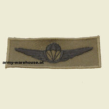 """österr. Bundesheer Abzeichen, """"Fallschirmspringerabzeichen bronze"""" Jagdkommando"""