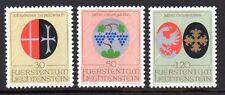 Liechtenstein 1971 Coats of arms Mi. 548-50 MNH