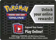 1x Pokemon Online Reshiram BW23 Code Card for Online TCG Promo