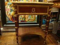 BEST OFFERS!! LOUIS XVI FRENCH BRONZE MOUNT MAHOGANY TABLE CHRISTIES $28,000!