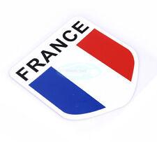 Peugeot Renault France flag National flag Reflective Decal Emblem Badge Sticker