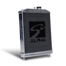 Skunk2 Racing Alpha Series Half-Size Aluminum Radiator 88-91 Honda Civic CRX ALL