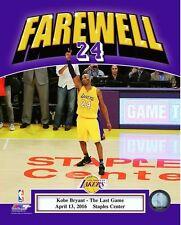 Kobe Bryant Farewell Final NBA Game-Staples Center- April 13, 2016 8x10 Photo #2