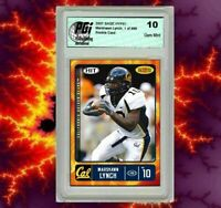 Marshawn Lynch 2007 SAGE HYPE 1/899 Rookie Card PGI 10 Seattle Seahawks