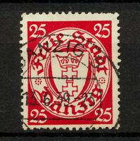 (YYAS 780) Danzig 1938 USED Mich 294 Gdansk Poland Germany swastika Wz Wmk.