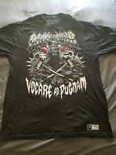 triple h HHH call to war black wwe shirt size XL extra large
