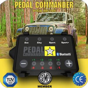 Pedal Commander throttle controller PC31 BT for Jeep Wrangler JK 2006-2018