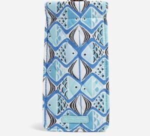 Vera Bradley Sunglass Sleeve Go Fish Blue - New