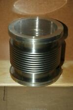 "High Vacuum 4"" ID x 5"" Flex Flexible Bellows Flanged Flange Fitting - NOS"