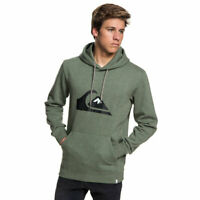 Quiksilver big logo hoodie thyme heather fw 2019 felpa new skate snow surf s m l