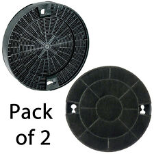 2 x ZANUSSI Genuine Type 29 Charcoal Cooker Hood Carbon Filter Vent 190 x 35 mm