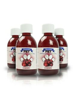 Pet Dog Cat Cleaner 250ml Eco-Refill Concentrate Makes 4x5L Cherry Fresh Pet