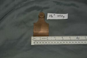 """Bronze lever cap casting for Norris-type English wood fill plane 2 1/8"""" fit 2"""""""
